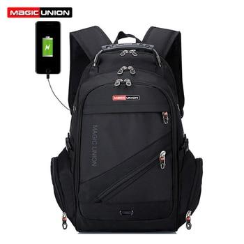 MAGIC UNION Children School Bags boy Backpacks Brand Design Teenagers Best Students Travel Usb Charging Waterproof Schoolbag 1