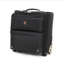 Swiss army knife trolley luggage bag travel bag soft box 16 luggage male small