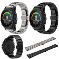 Fabulous titanium aço pulseira wrist strap smart watch band para garmin fenix 3/hr atacado no25
