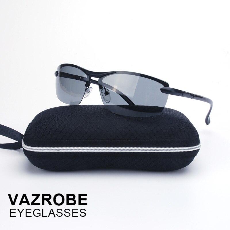 Vazrobe Marca (10 s Mudar de Cor) Fotocromáticas Óculos De Sol Polarizados  Homens Camaleão Óculos Óculos de Motorista para a Condução de Grandes homem  em ... 7597342444