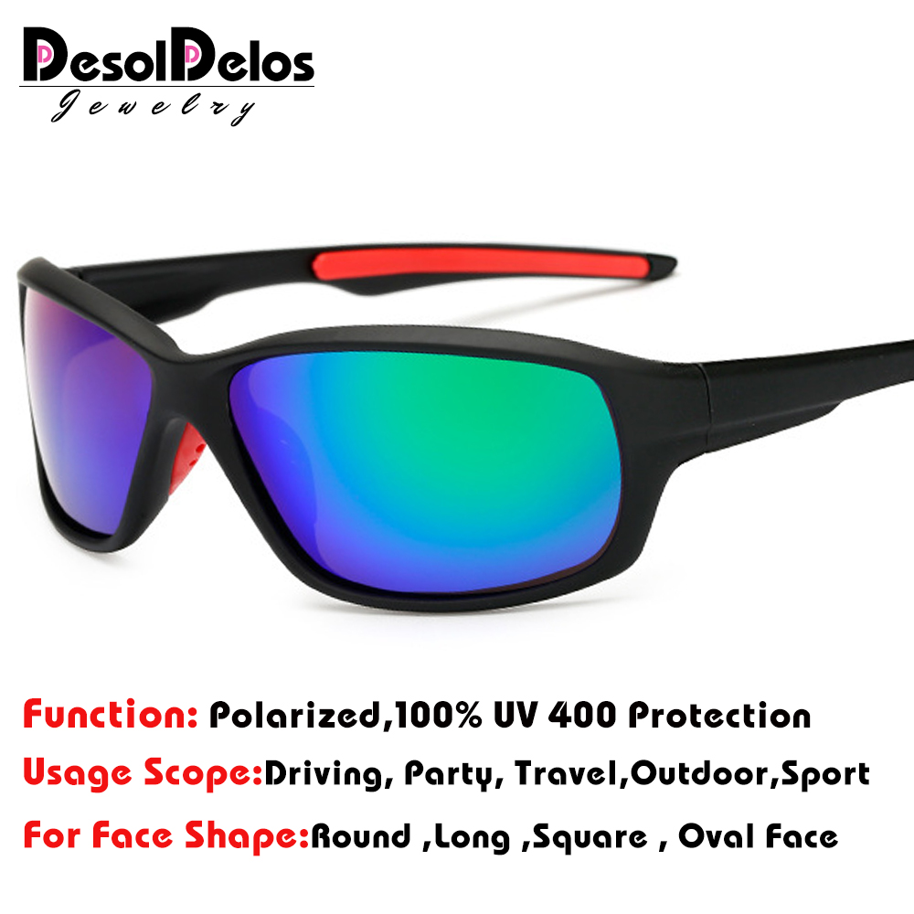 2019 New Polarized Men Sunglasses Fashion Gradient Male Driving Glass UV400 Polarised Goggle Eyewears lunette G211
