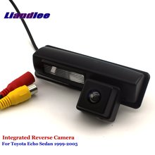 Liandlee Car Rear View Camera For Toyota Echo Sedan 1999-2005 Rearview Reverse Parking Backup Camera / Integrated SONY HD new high quality rear view backup camera parking assist camera for toyota 86790 42030 8679042030