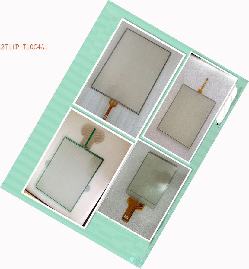 touch glass touch screen panel new + protect flim for 2711P-T10C4A1 panelView Plus 1000