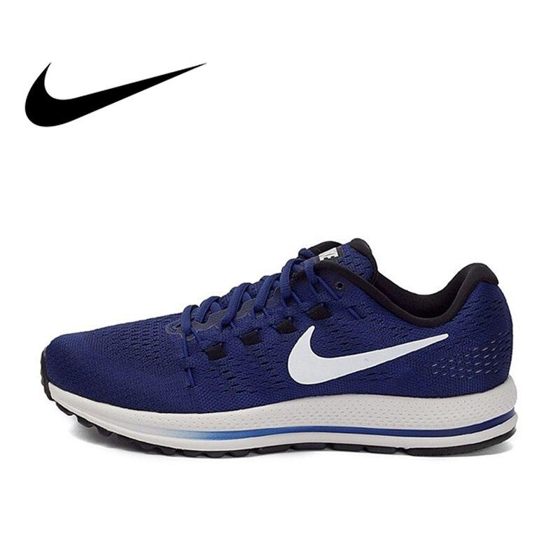 Original Officiel Nike AIR ZOOM VOMERO 12 Respirant Sport Sneakers Hommes de chaussures de course Confortable En Plein AIR Jogging Durable
