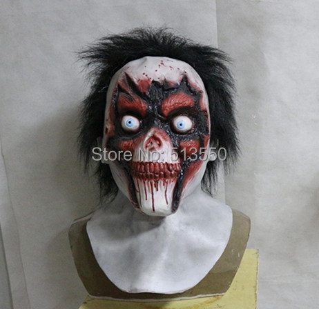 2014 Hot Selling High Quality Scary Ghost Latex Halloween Devil Masks For Adult Halloween Party image