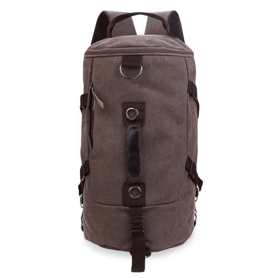 2017 High Quality Large capacity men bags canvas bucket shoulder bag man travel bag mountaineering backpack multi function bags large capacity man travel bag mountaineering backpack men bags canvas bucket shoulder bag 012