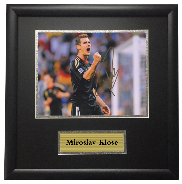 SA COA Miroslav Klose German player autographed signed Photo Framed. US   212.80. Dybala signed autographed soccer shirt jersey come ... 42179d3bd