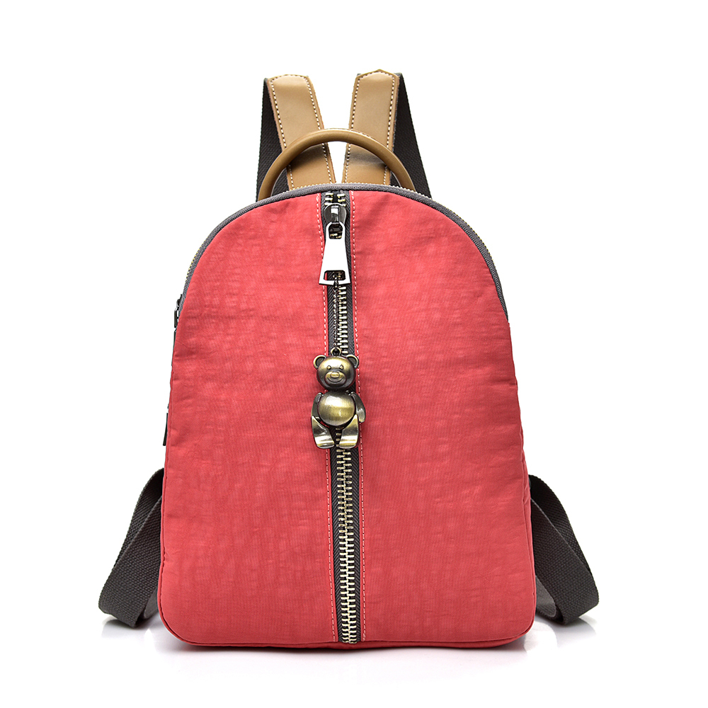 Women Waterproof Backpack Nylon Shoulder Bags Student School Bag Girl Backpacks Female Ladies Travel Bag Mochila Feminina F089