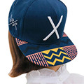 Luck Dog  2015 New Hip-Pop Letter X Flat Hat Baseball Cap Hip-Hop Peaked Cap