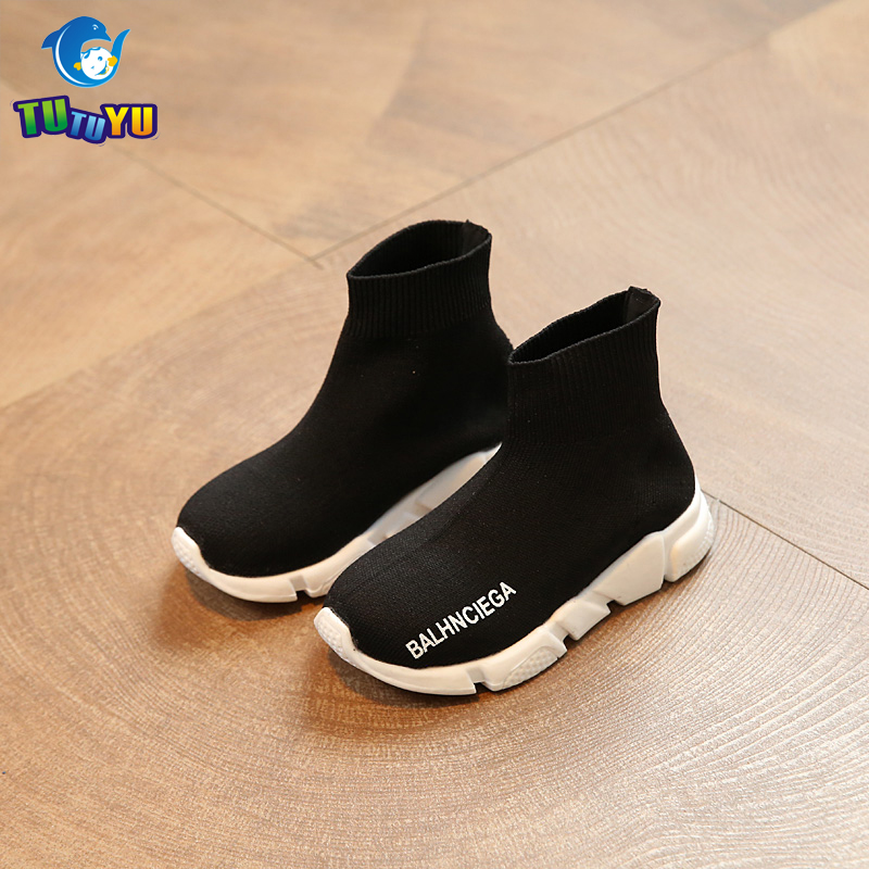 685f690db1ab0 TUTUYU Kids Fashion Shoes Boys Girls Flying Sneakers Children High Hell  Speed Trainer for Kids Tennis Infantile Shoes-in Sneakers from Mother   Kids  on ...