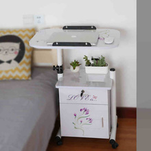 BSDT Yi Amoy notebook comter desk with cabinet movable lifting bedside to table book FREE SHIPPING
