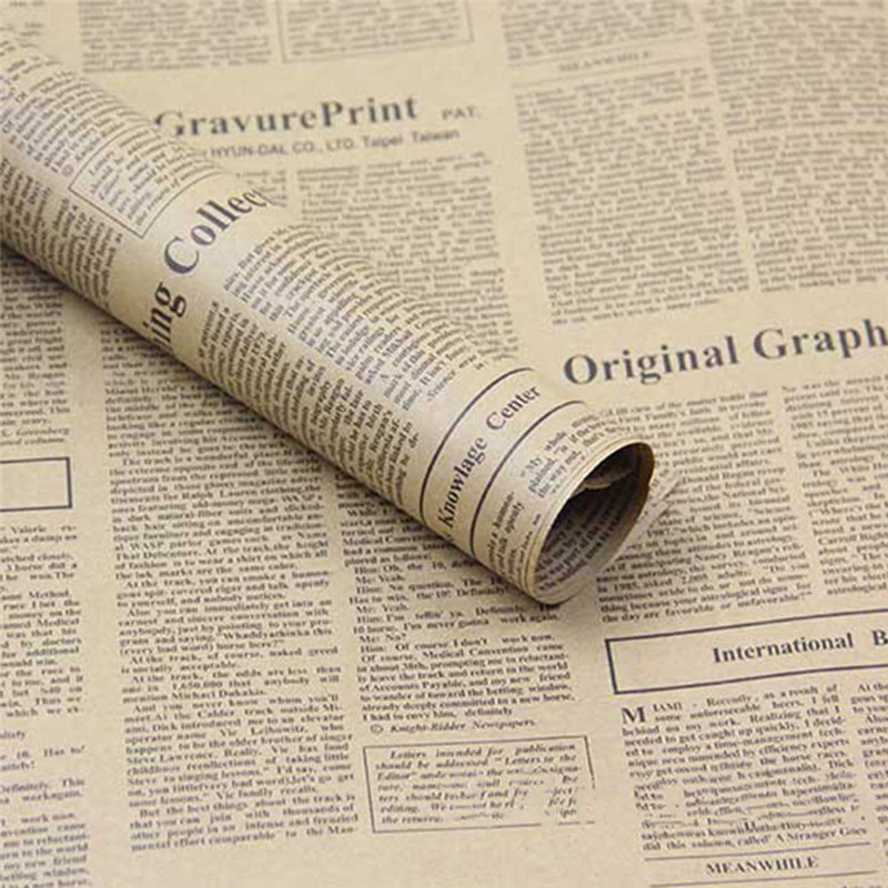 https://ae01.alicdn.com/kf/HTB1LXn_PVXXXXcNXpXXq6xXFXXX2/Vintage-Newspaper-DIY-Gift-Wrapping-Paper-Flower-Bouquet-Craft-Paper-Supplies-1X.jpg
