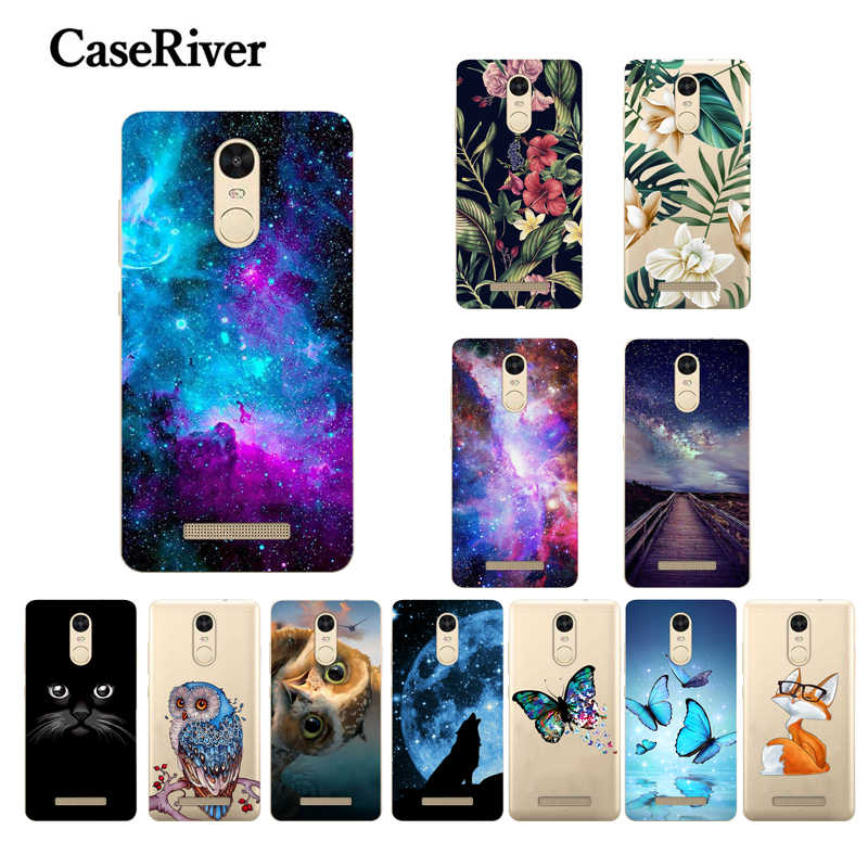 "Funda For Xiaomi Redmi Note 3 Pro Case Cover 5.5"" Special Edition Redmi Note 3 Pro Prime SE 152mm Back Phone Case Paint TPU"