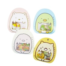 цена на 50pcs/pack Cute Lovely Cartoon Animals PVC Stickers For Diary Scrapbooking Stickers Notebook Wall Decoration Children Play Toy