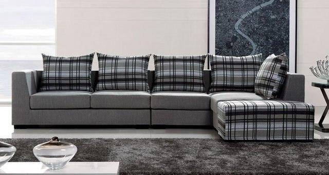 Bnds Fabric Sofa Modern Living Room Sofa Sectional Corner American