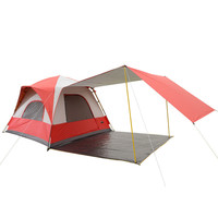 Wnnideo 4 6 Person Outdoor Products Double Deck Automatic Tent Camping Beach Tent Waterproof Portable Wholesale