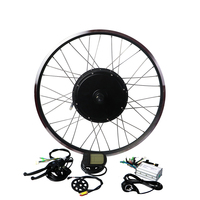 EUNORAU 48V1000W 26''27.5'' 28'' front/rear wheel hub motor electric bike kit cheap Ebike Conversion Kit free shipping