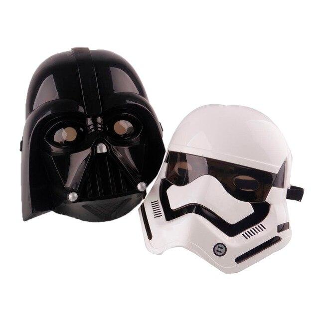 Cosplay star wars mask led lighting lighten party halloween black ...