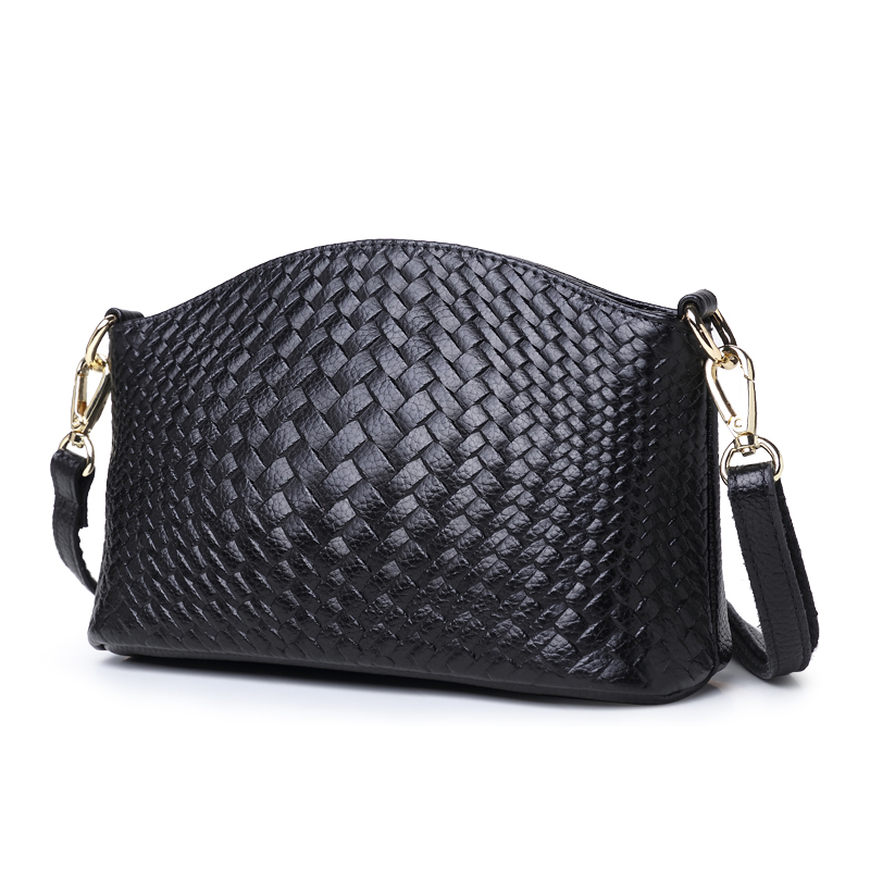 Fashion Women genuine Leather Messenger Bag Handbag Ladies Small Crossbody Bags Famous Brands Designers Shoulder Bags Girls new fashion women message bags with small purse metal ring handle leather handbag ladies girls trendy shoulder bag balestra