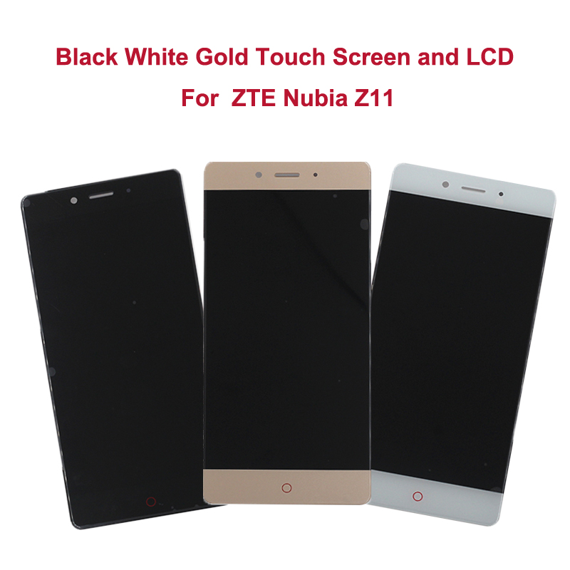Original 5 5 For ZTE Nubia Z11 NX531J Full LCD Display Touch Screen Digitizer Assembly Mobile