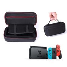 Para o Saco de Proteção Interruptor de Nintendo Game Console De Armazenamento Pacote de Viagem Bolsa de Transporte Caso Titular Bolsa Anti-Choque EVA