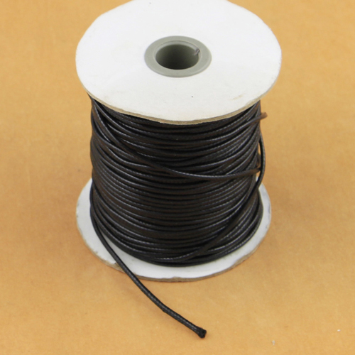 10yards 1.8-2mm clothing wire Waxed Cord Beading Rope String for Handmade Braided