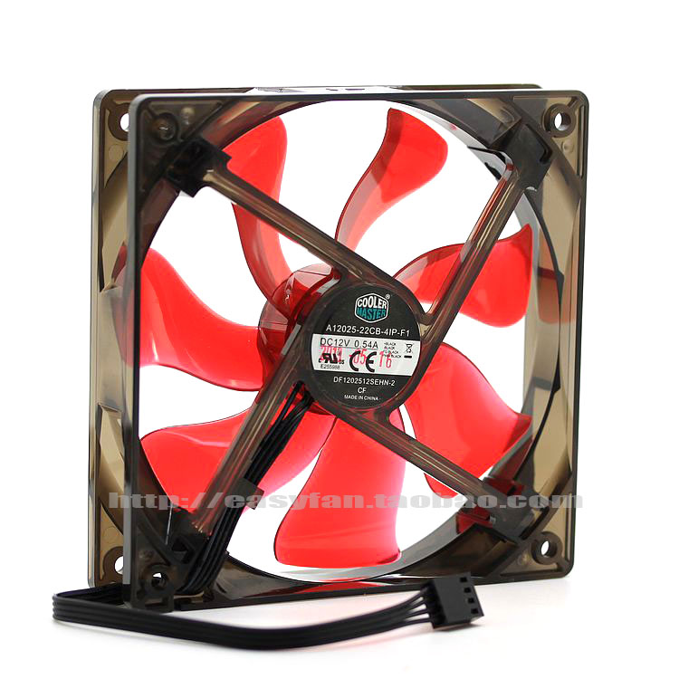 compare prices on cooling fan thermostat online shopping buy low Cooler Master Cpu Fan 4 Wire Wiring new original for coolermaster df1202512sehn 2 12v 0 54a 120*120*25mm 12cm CPU Fan Heatsink with Clips