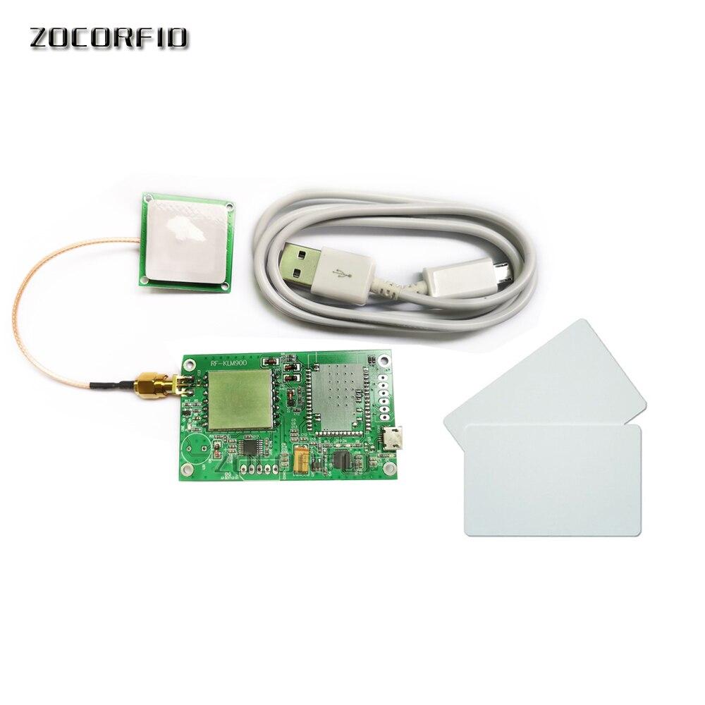 low power quality passive mini uhf rfid reader module +2dbi small ceramic rfid uhf antenna+Free SDK+Free Testing tags