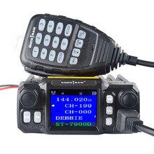 A Mosca Auto Mobile Walkie Talkie Ham Amateur Radio Transceiver Veicolo 136/220/350/440MHZ 4 bande UHF VHF Mobile car radio