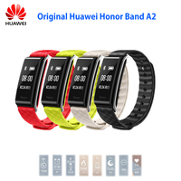 NEW Original Huawei Honor Color Band A2 Smart Wristband 0.96 OLED Screen Heart Rate Monitor Show Message End Call IP67
