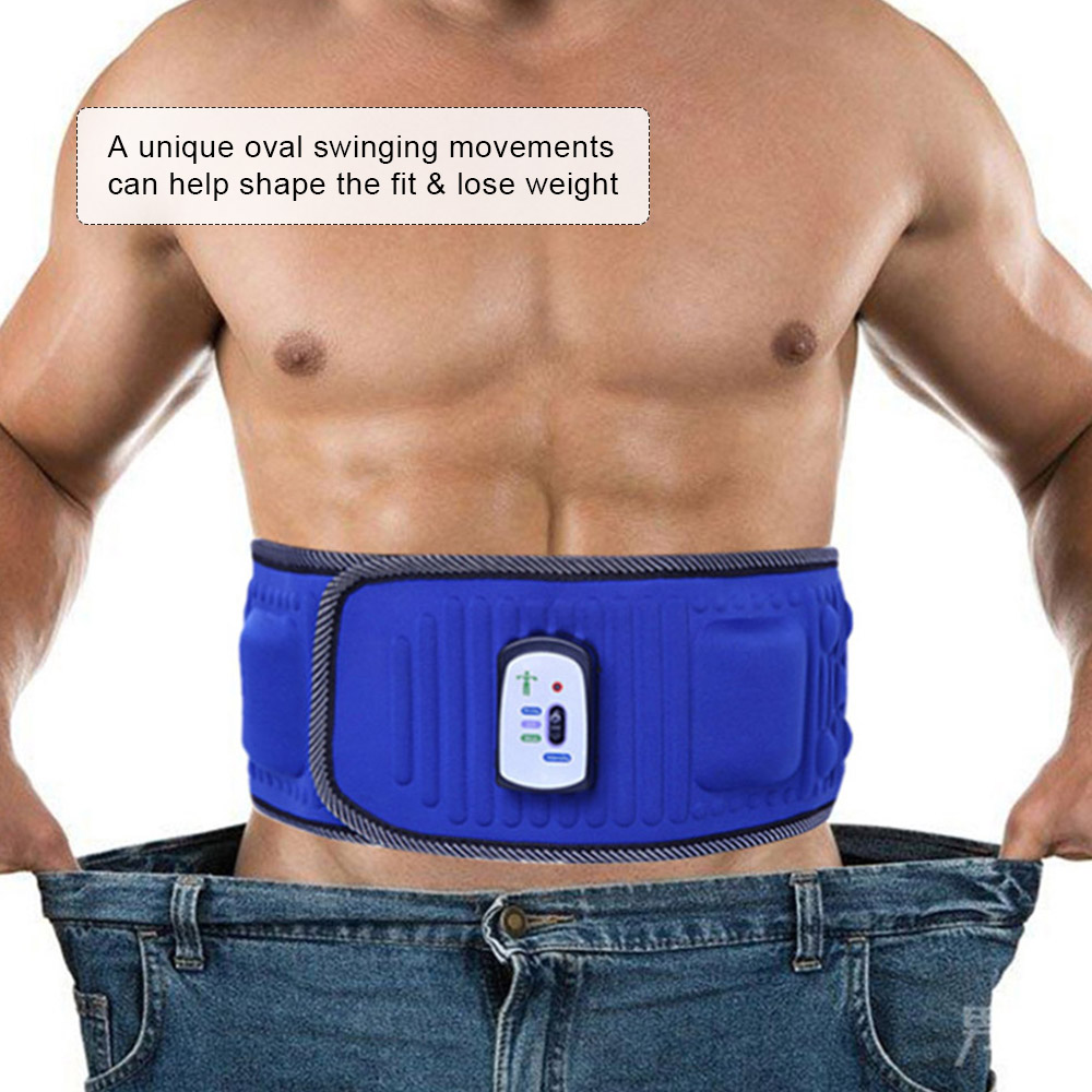 Electric Body Slimming Belt Heat Function Vibra Vibration Weight Loss Rejection Fat Massage Slimming Machine abdomen reduce weight thin waist belt 4800times min vibration massage rejection fat weight lose shake shake belt slimming belts
