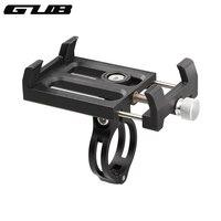Gub plus3 mountain bike suporte do telefone de alumínio à prova dnylon água náilon rotativo suporte do telefone móvel ajustável para a motocicleta
