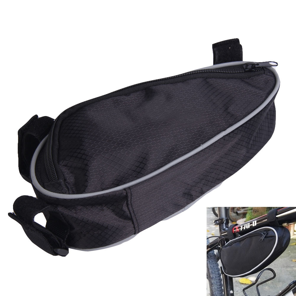 Triangle Bicycle Bag Cycling Bike Beam Stativ Phone Tools Sada Tool Bag Cyklistika Bike Frame Saddle Balení MTB Bike Příslušenství