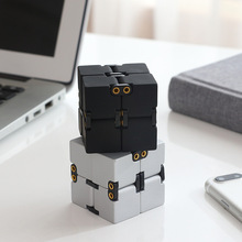 Alloy Infinity Cube High Quality Fidget Cube Anti Stress Magic Finger spinners Hand Out Door Game Toys Adult ADHD