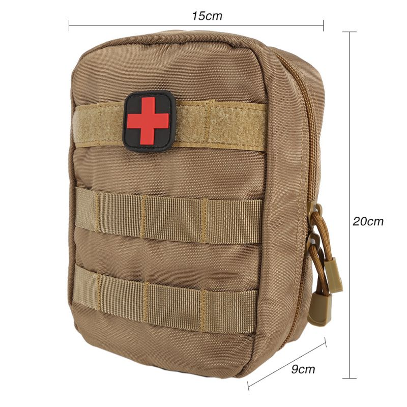 TACTICAL First Aid Bag Medical EMT Pouch Utility Emergency Military Emergency IFAK Pack Outdoor Travel Hunting Bag