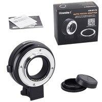 Commlite CM EF FX электронные переходник крепление для объективов с автофокусом от Canon EF/EF S объектив для Fujifilm X T3 X H1 X T2 XT20 FX Крепление камеры