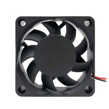 2 Pieces F6015 60mm Computer Fan Cooler Low Noise Laptop Cooling Fan 12V Desktop Cooling System