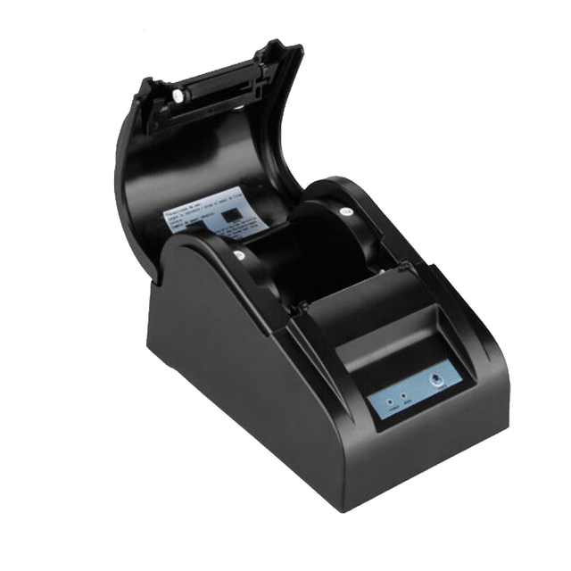 Themal 58mm receipt printer with high speed USB interface widely used for shop, supermarket pos system support win10 HS-589TU