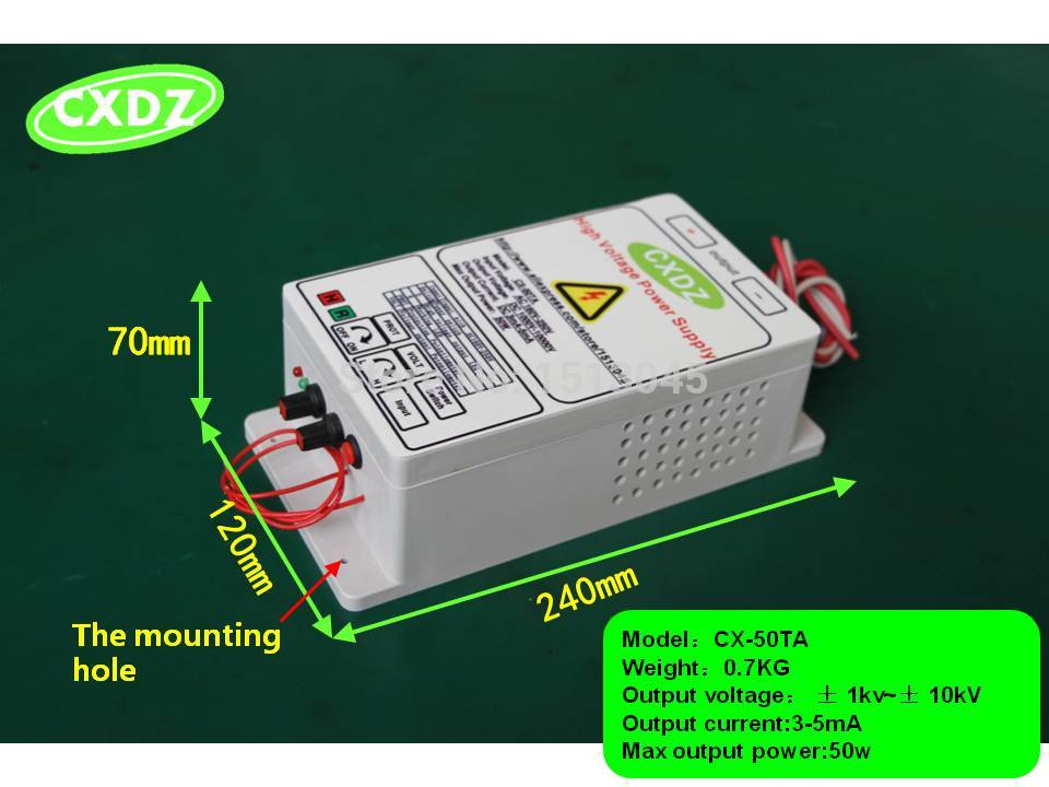 High Voltage Power Supply With 10kv Output Electrostatic