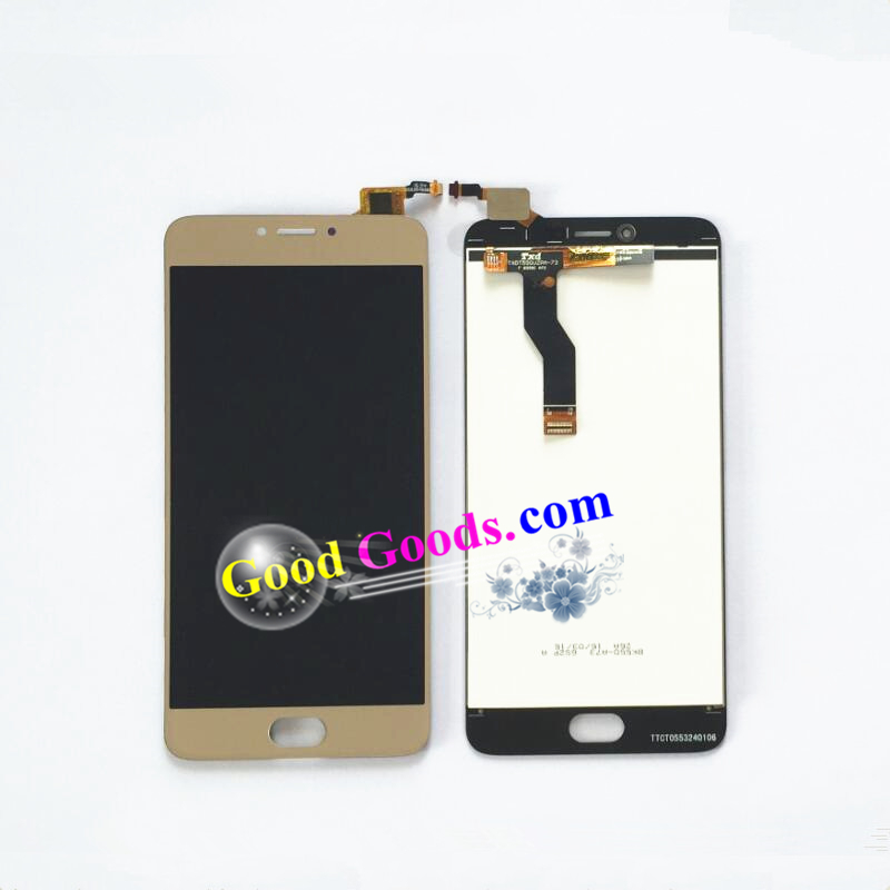 Touch Screen Digitizer + LCD Display assembly replacement  For Meizu M3 Note L681H Cellphone  Black / White / Gold color