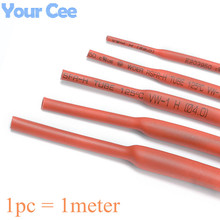 1 Meter Insulation Sleeve 600V Red 2mm 3mm 4mm 5mm 6mm 8mm 10mm Heat Shrink Heatshrink Tubing Tube Sleeving Wrap Wire
