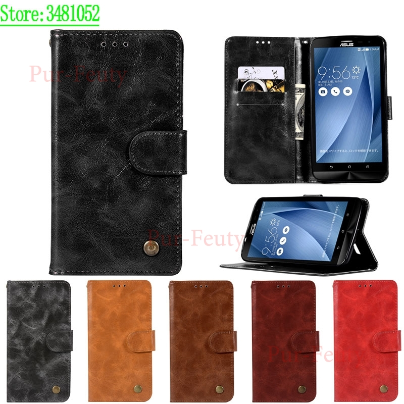 for ASUS Zenfone 2 laser Z00LD ZE550KL <font><b>ZE</b></font> ZE550 <font><b>550</b></font> 550KL <font><b>KL</b></font> Case Leather Phone Flip Case for ASUS_Z00LD ASUS Zenfone2 laser image