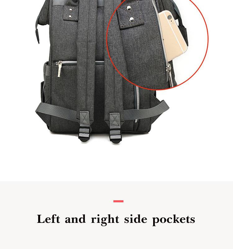 HTB1LXtgRcfpK1RjSZFOq6y6nFXau Fashion Mummy Maternity Diaper Bag Large Nursing Bag Travel Backpack Designer Stroller Baby Bag Baby Care Nappy Backp
