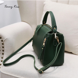 Tonny Kizz luxury handbags women bags designer crossbody messenger bags female bucket small bag with long strap shoulder bags