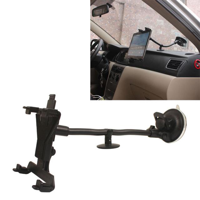"""Carro del coche del vehículo 30 cm largo brazo soporte para samsung tab 7 """"-13"""" android tablet"""