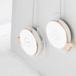 Image 3 - RUKZ auriculares estéreo L1 con gancho para la oreja para teléfono inteligente, dispositivo HiFi para correr, Control de volumen