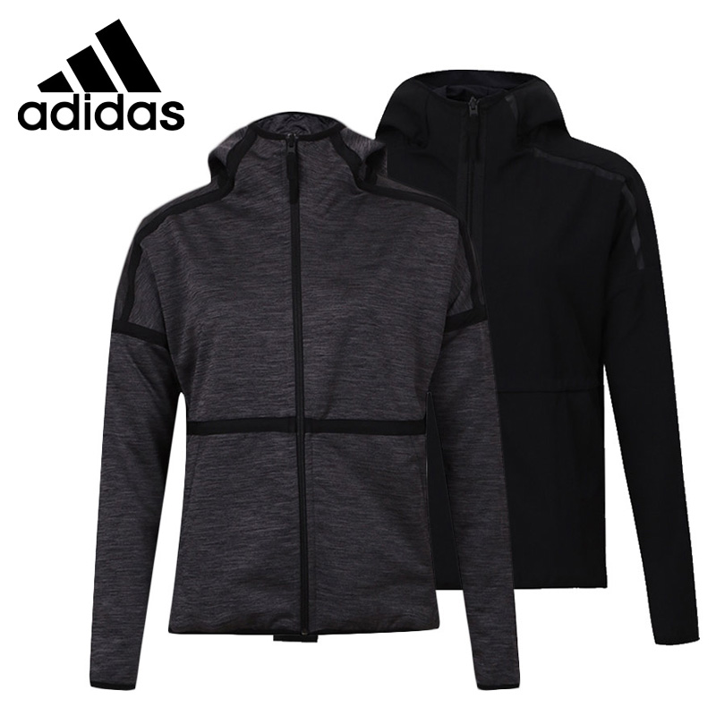 Original New Arrival 2018 Adidas W Zne SO Rev Hd Women's Reversible jacket Hooded Sportswear original new arrival authentic adidas zne hoody breathable women s hooded jacket leisure sportswear