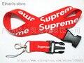 UNA PC Rojo Supremo ID Badge Key Llaveros Móviles Cordón Correas de Cuello Color de La Mezcla