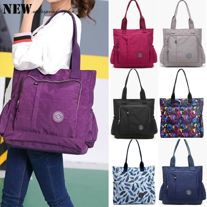 2019 Newest Fashion Women Nylon Large Capacity Shoulder Bag Messenger Cross Body Bag Multi Pockets Hot Sale