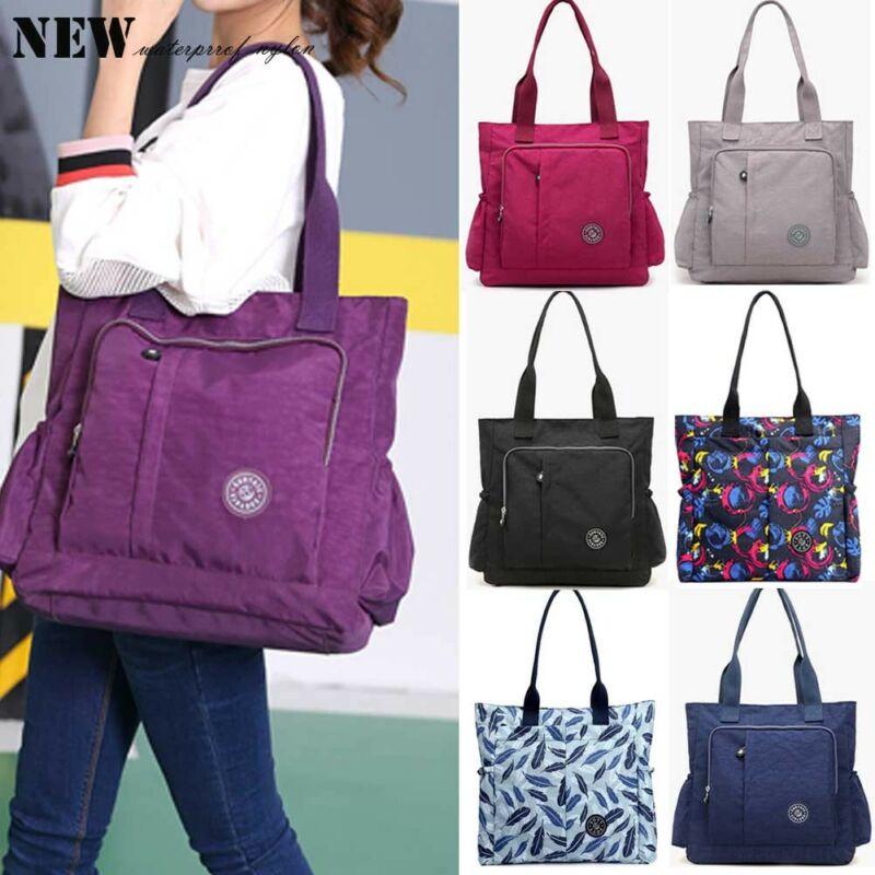 2019 Newest Fashion Women Nylon Large Capacity Shoulder Bag Messenger Cross Body Bag Multi Pockets Hot Sale